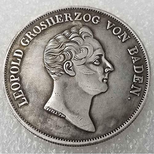 (NiuChong Antique German Morgan US Dollars - 1836 Old Coin Collecting - US Dollar Old Original Pre Morgan Dollar - Replica US Coin Love it)