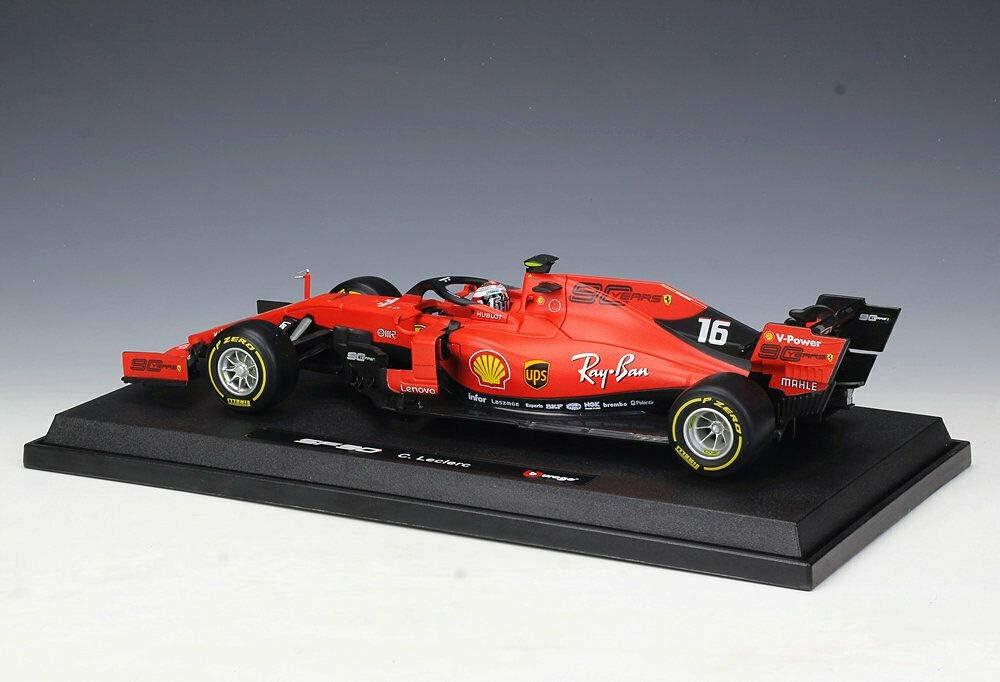 Charles Leclerc 1:18 Ferrari SF90-2019 Bburago signature series