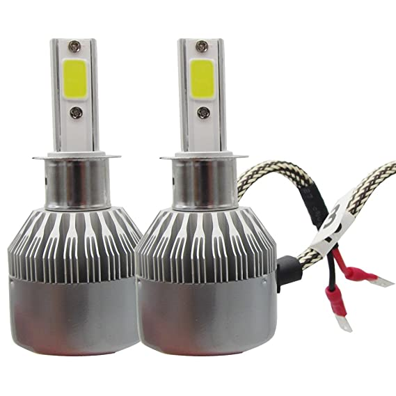 Amazon.com: SHINA H3 LED Headlight Conversion Kit Car Beam Bulb Driving Lamp 6000K: Automotive