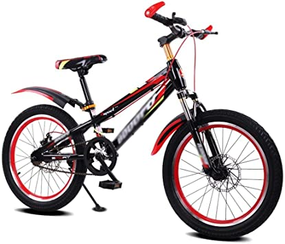 KOSGK Bicicletas para NiñOs Bicicletas Marco Templado Bicicleta ...