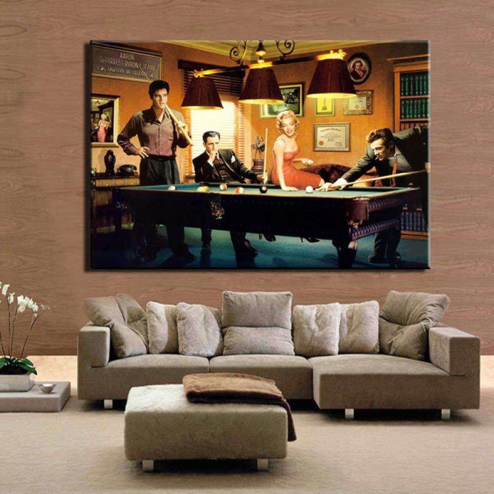Cartel clásico moderno lienzo pintura Elvis Presley Humphrey ...