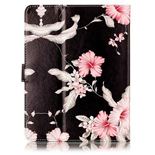 """Nook Tablet 7 2016 Universal Tablet Case,Marble PU Leather Unique Design Flip Case Kickstand Universal Tablet Cover for 7"""" Barnes & Noble Nook 7 BNTV450 Tablet"""