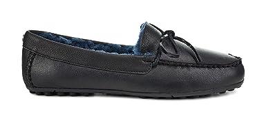 e75fe3fe8e1 UGG Women s Deluxe Loafer Black 5 B US B ...