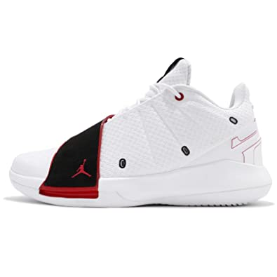 the latest 215cd 290d4 Amazon.com | Jordan Men's CP3.XI, White/University RED-Black ...