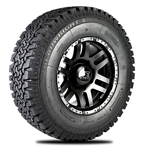 TreadWright WARDEN A/T Tire - Remold USA - LT265/75R16E (Cheap Truck Rims)