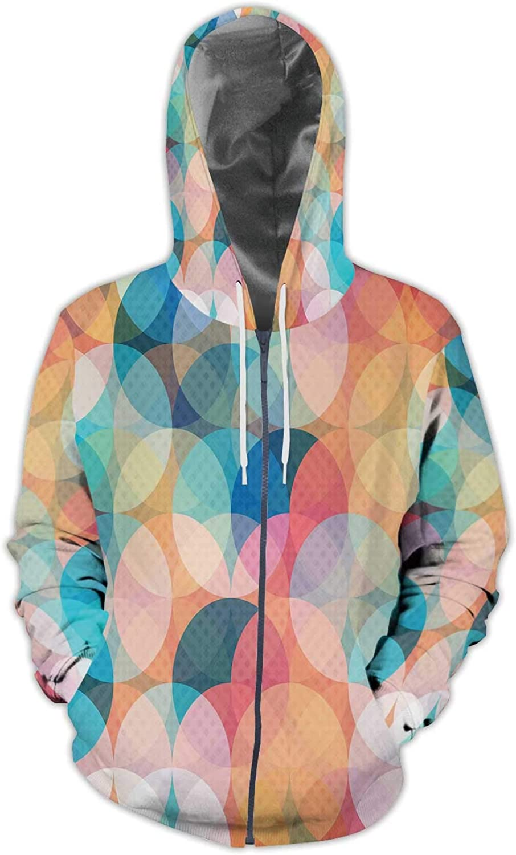 C COABALLA City Colorful.Spain Illustration Barcelona Spain,Men//Womens Warm Outerwear Jackets and Hoodies City S