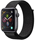 Apple Watch Series 4 (GPS, 44mm) - Space Gray Aluminum Case with Black Sport Loop