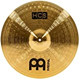 Meinl Cymbals HCS18C 18'' HCS Brass Crash Cymbal for Drum Set (VIDEO)