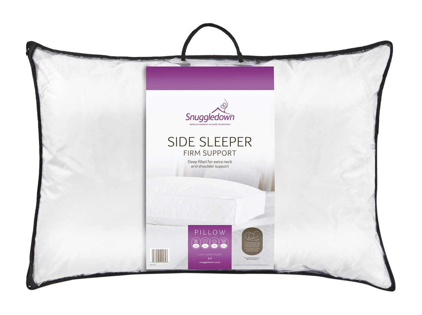 with home kitchen support sleepers cover bed amazon bamboo pillow contoured wedge com sleeper side dp avana for