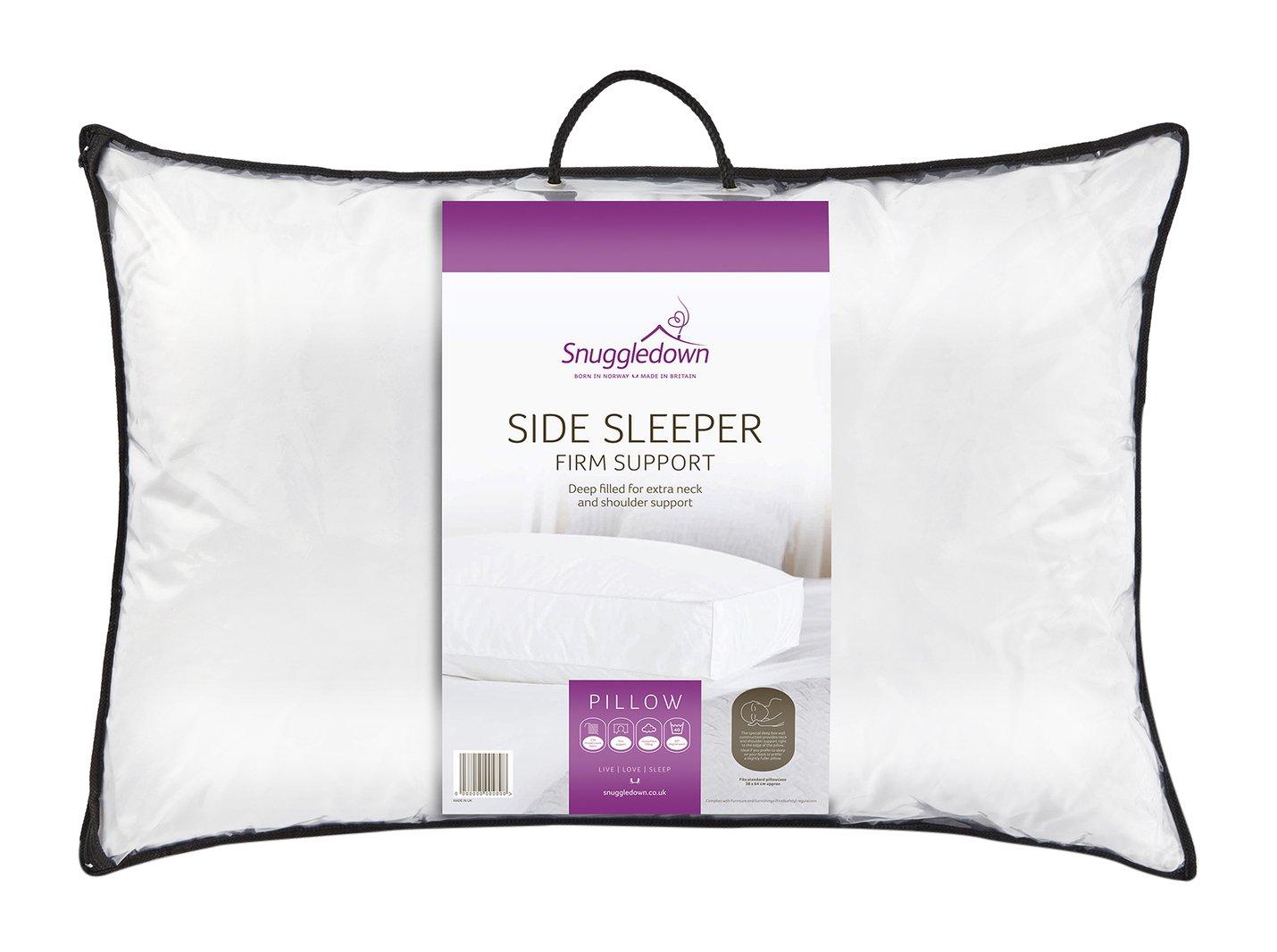 Snuggledown Side Sleeper Pillow Ebay