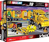 K'NEX NASCAR Building Set: #18 M&M's Transporter Rig