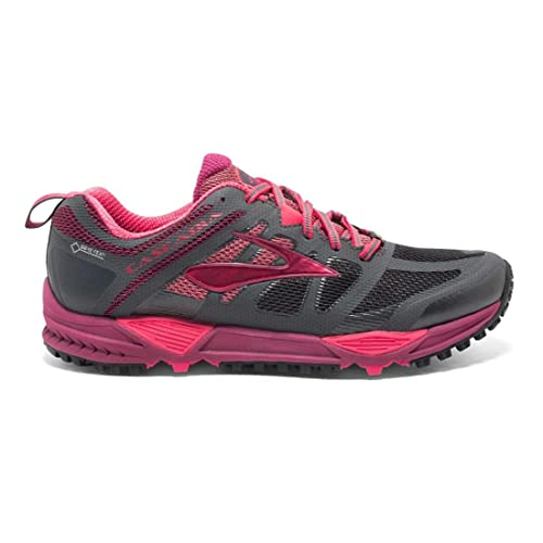 9977dc94bb61c Brooks Women s Cascadia 11 GTX Anthracite Teaberry Raspberry Radiance  Sneaker 10. 5 B (M)  Buy Online at Low Prices in India - Amazon.in