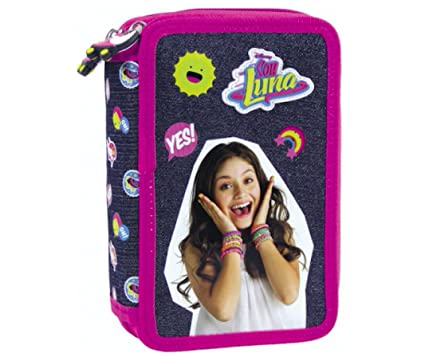 Disney Violetta 44 x Piezas Love (3 compartimentos carpeta ...
