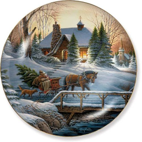 Heading Home Collector Plate by Terry Redlin