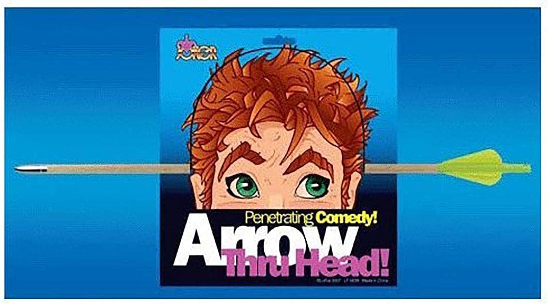 Arrow Through Head Prop