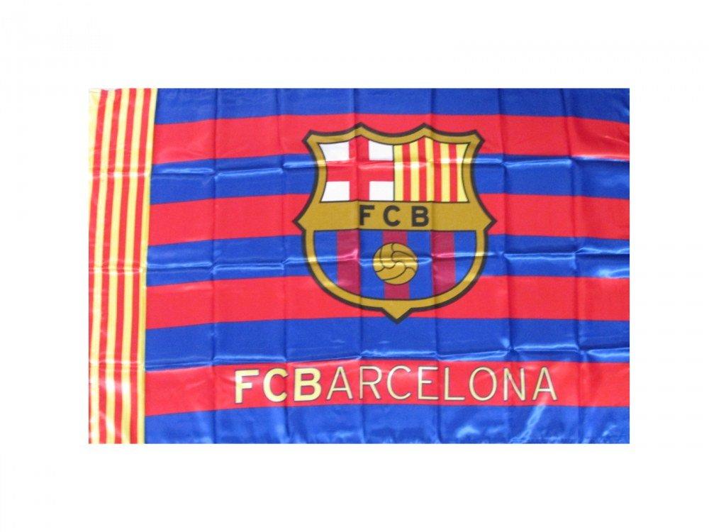 Bandiera Barcelona ufficiale 150 x 100 in busta regalo FC Barcelona Barcellona Roger' s