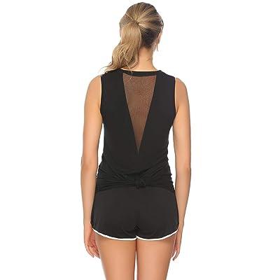 Abollria Camiseta de Tirantes Mujer,Camisetas Chaleco Verano sin Mangas para Yoga Fitness y Deportes: Ropa y accesorios