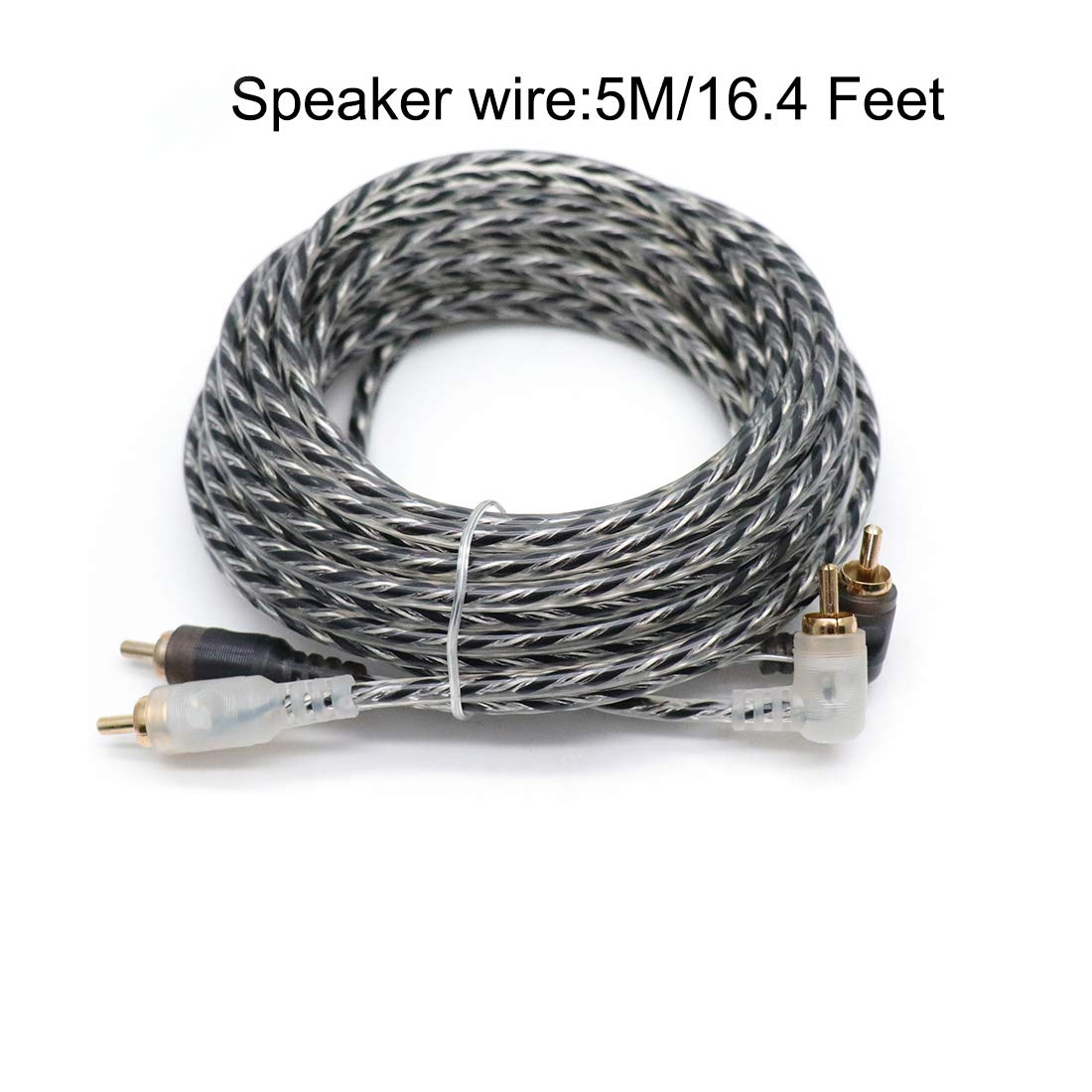 Subwoofers and Speakers Sydien 6 Gauge Amp Auto Car Audio System Speaker Kit Amplifier Install Wiring Cable 1200W Make Connections /& Brings Power to Your Radio
