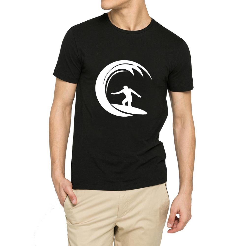 Loo Show Surfer Surf Board Casual Graphic T Shirts Tee