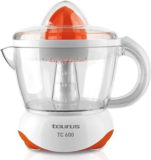 Taurus TC 600 Exprimidor 40 W, 0.7 litros, 0 Decibelios, PU ...