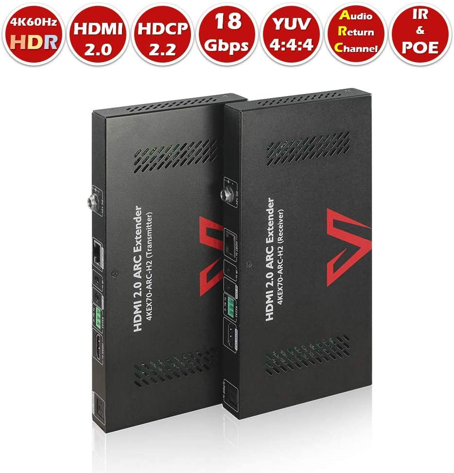 yan HDMI Over RJ45 CAT5e CAT6 UTP LAN Ethernet Balun Extender Repeater 1080P