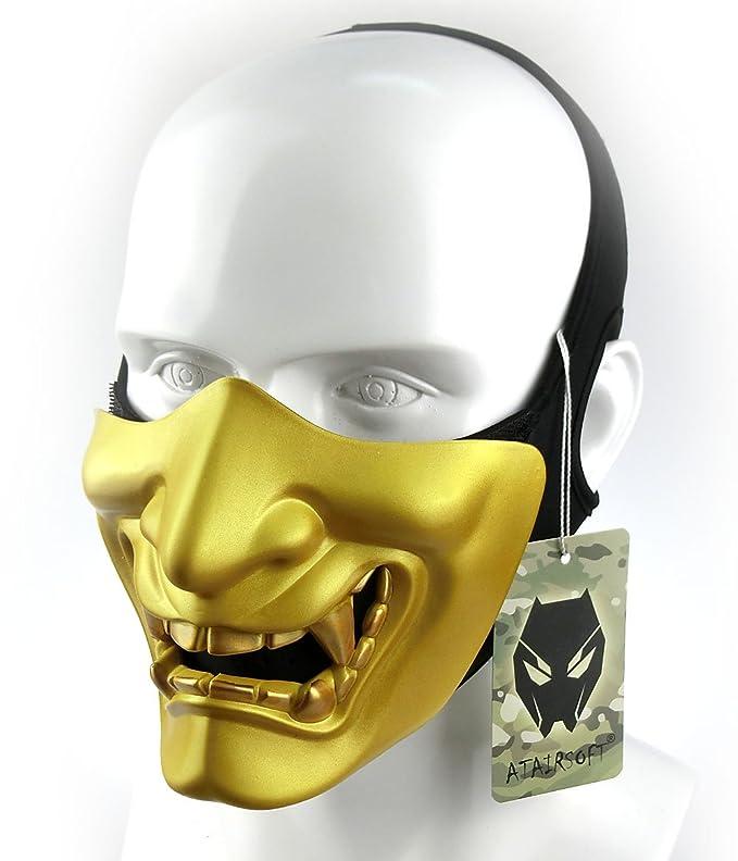 ATAIRSOFT Media mascarilla Táctico Protector Paintball Disfraz de ...