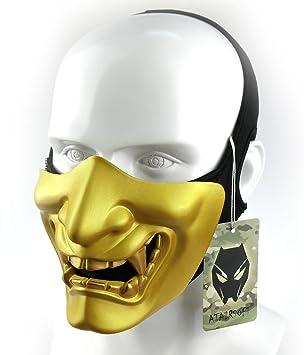 Atairsoft Máscara para disfraz de halloween, cosplay, BB, demonio, diablo, monstruo