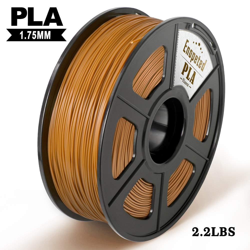 Carbon Fiber 3D Printer Filament, Filament 3D Printing Materials, Extremely Rigid 3D Printer Filament, Dimensional Accuracy 1.75mm+/-0.02mm, 1KG (2.2 lb) Spool Black Enotepad
