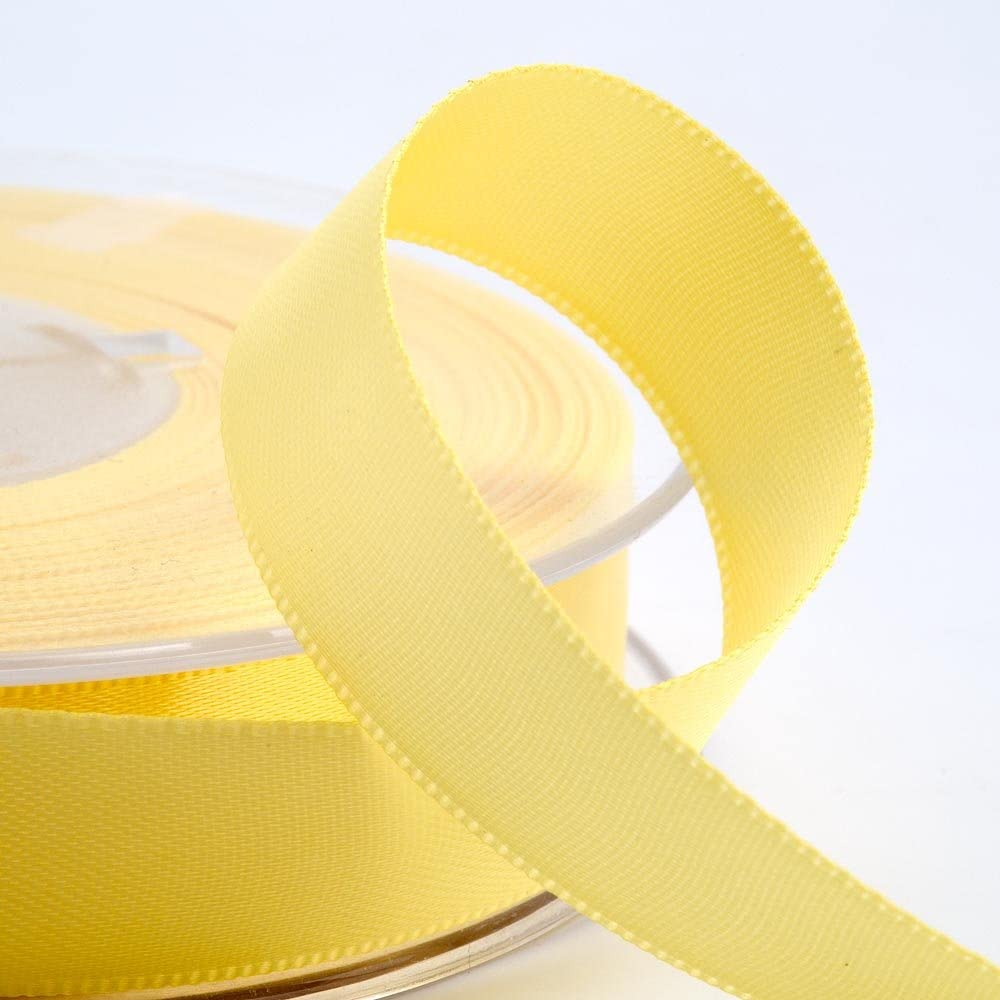 Luxury Best Quality FULL REEL Double Sided SATIN Ribbon 3mm 6mm 10mm 16mm 25mm