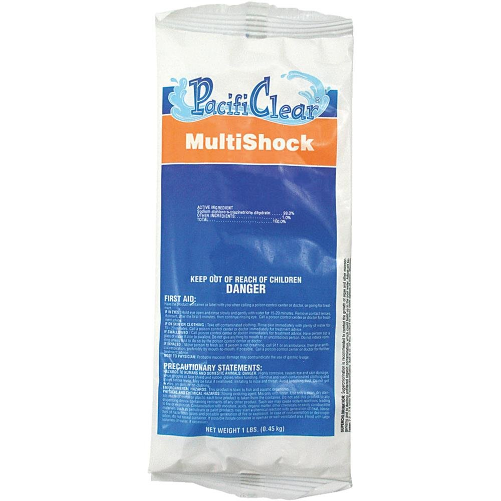 WATER TECHNIQUES PacifiClear MultiShock Granule Pack of 12