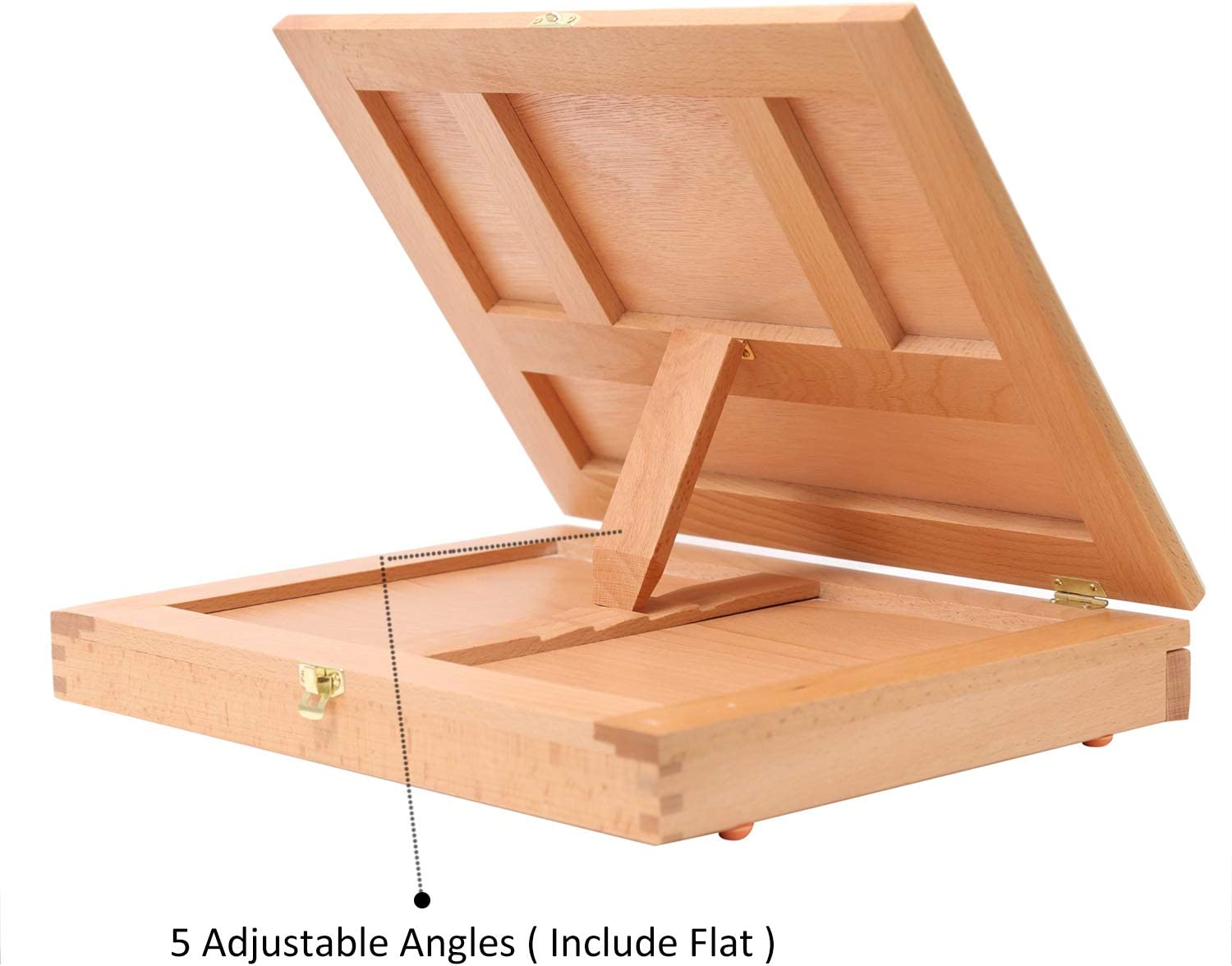 Portable Solid Beech Tabletop Wood Easel Drawing /& Sketching Board with Storage Drawer /& Palette for Beginner Artist Art Students /& Kids Canvas up to 11 /× 14 MEEDEN Table Sketch Box Easel