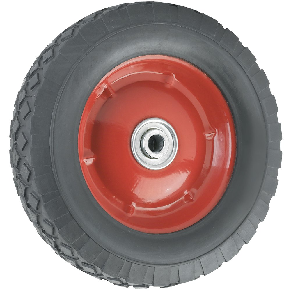 Replacement Wheel with Offset Steel Hub - 8-Inch x 1-3/4-Inch - 60 lb. Load Capacity - For use on Wagons, Carts, & Many Other Products
