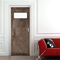 Yoommd 3D-deursticker, deurbehang, zelfklevend, deurposter, ijzer, woonkamer, slaapkamer, hotel, behang, PVC…