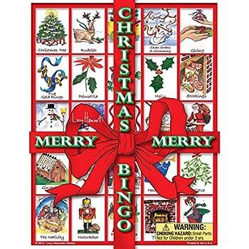 Christmas BingoTM by Lucy Hammett Games