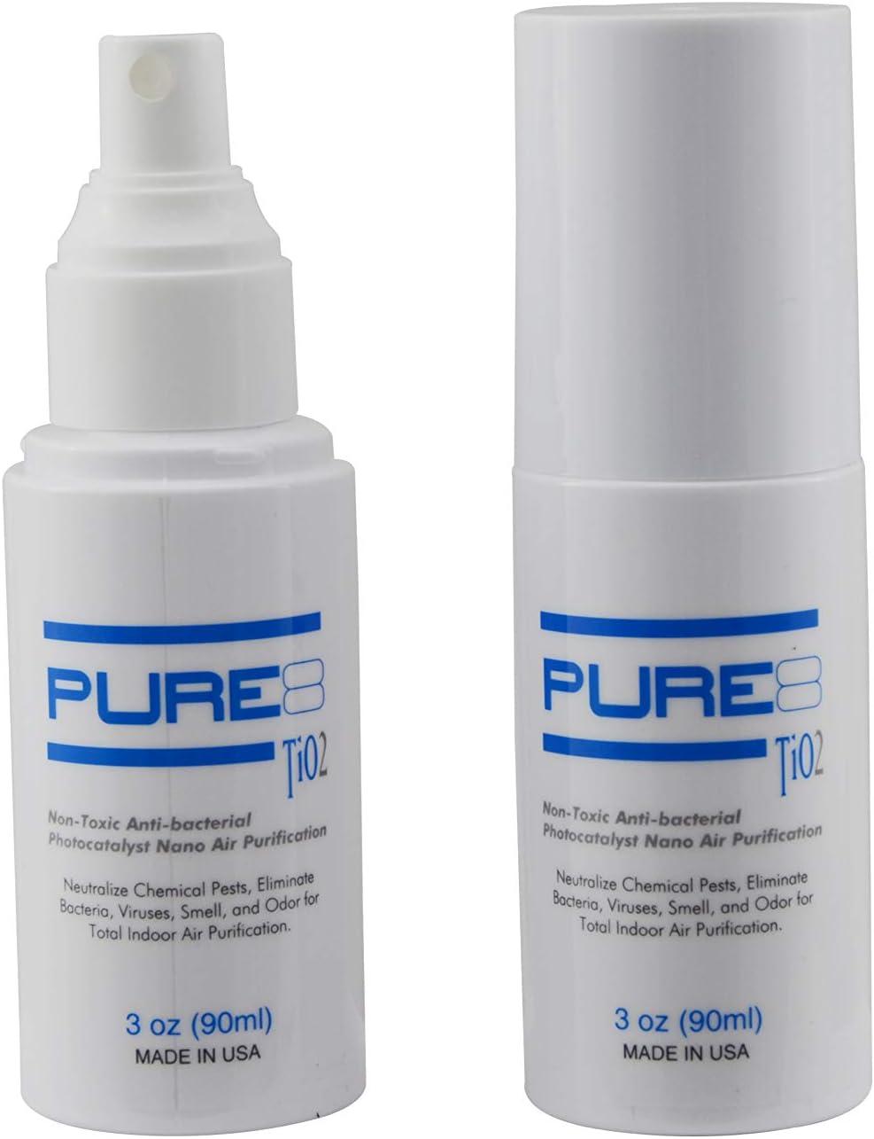 Amazon Com Pure8 Tio2 90ml Non Toxic Anti Bacterial Anti Viral