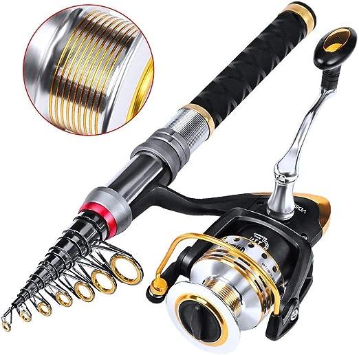 Spinning Combos 3500 giro de la rueda Kit Equipos de pesca con el ...