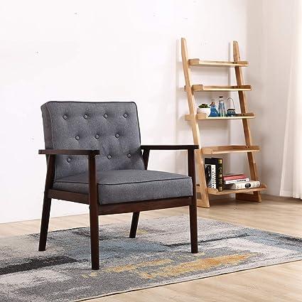 Tremendous Amazon Com Tinycooper Mid Century Modern Accent Chair Creativecarmelina Interior Chair Design Creativecarmelinacom