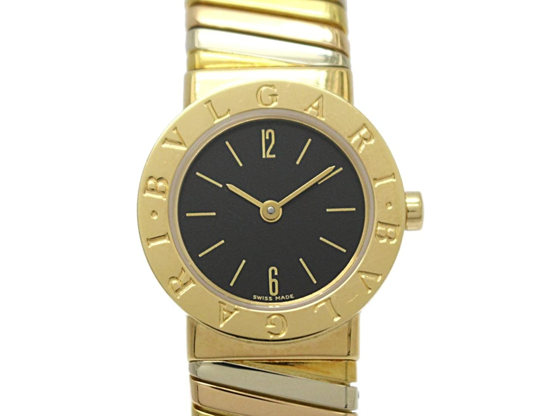[ブルガリ] BVLGARI トゥボガス M ウォッチ 腕時計 ゴールド K18YG(750)イエローゴールド BB232T [中古] レディース B07DNTVK8M