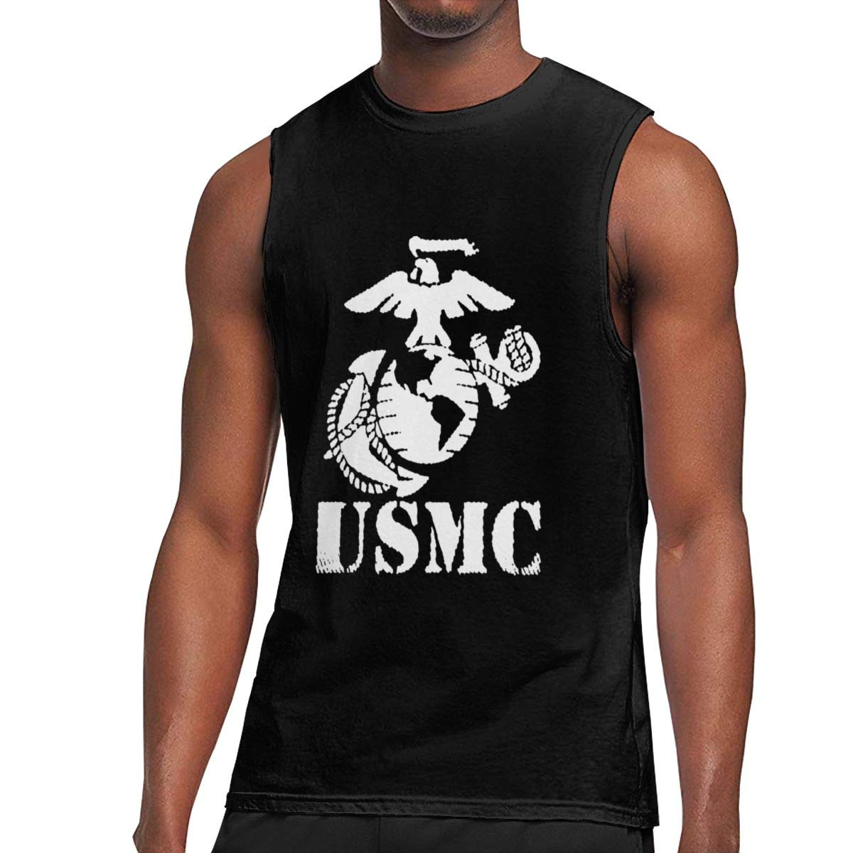 Seuriamin Usmc Corps S Humor Hiking Sleeveless Muscle Short Sleeve Ts Shirts