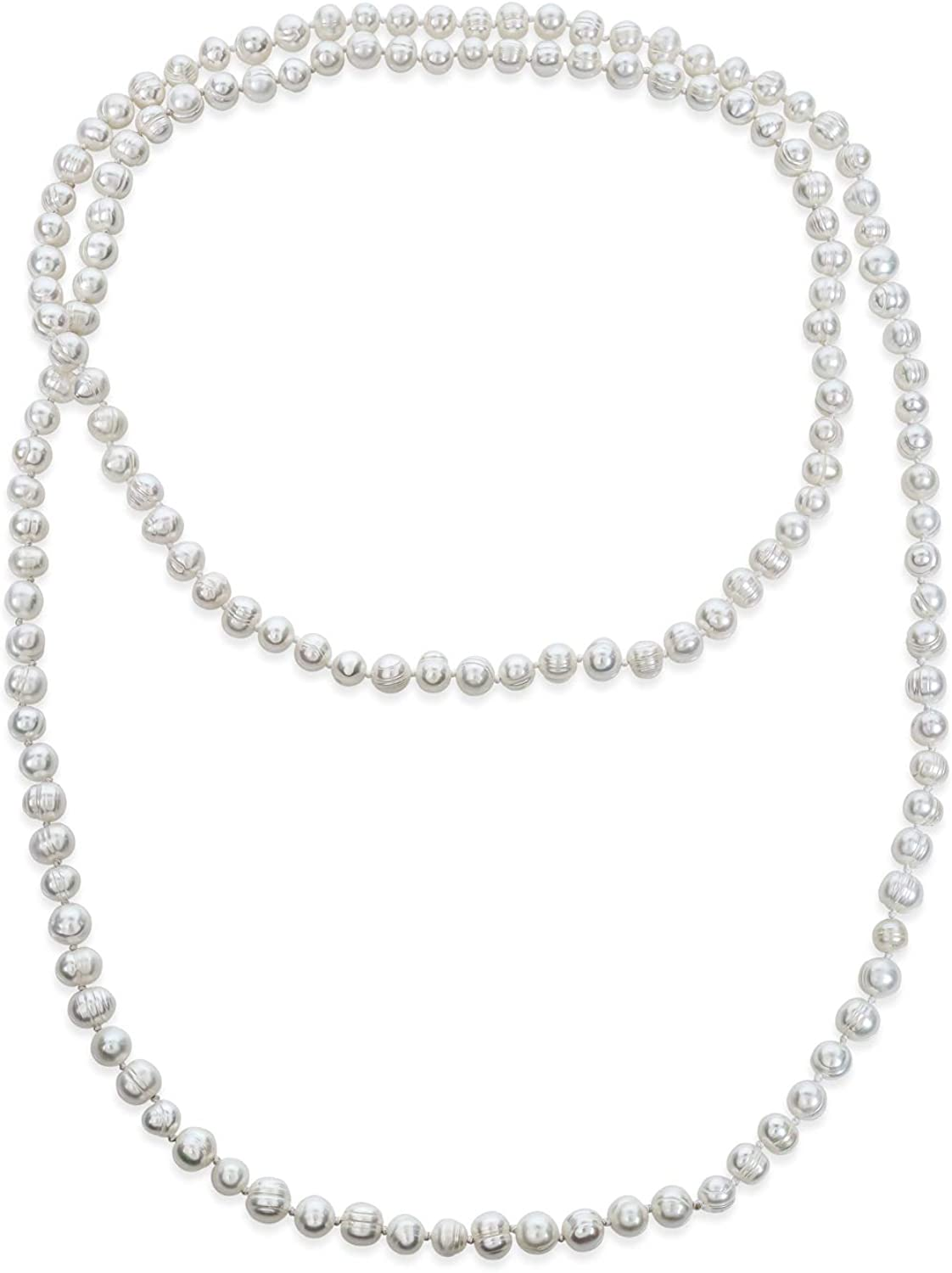 Bridal Wedding Pearls Fashion Jewelry Set Necklace Earrings White Shell Pearls 10mm Silver Clasp Women\u2019s Jewelry Gift