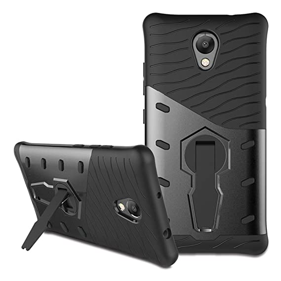 finest selection 81e9b 16de7 Lenovo P2 Case, Lenovo Vibe P2 Hybrid Case, Dual Layer Protection  Shockproof Hybrid Rugged Case Hard Shell Cover with Swivel Kickstand for  5.5'' ...