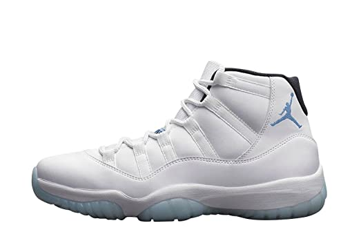f9f77f739e945a ... Nike Mens Air Jordan 11 Retro Columbia Legend Blue White Leather  Sneaker 10 ...