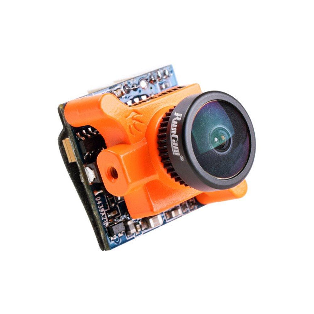 Crazepony RunCam fpv Camera Micro Swift 600TVL 2.3mm  Lens 5 to 36V NTSC IR Blocked for FPV Racing Drone