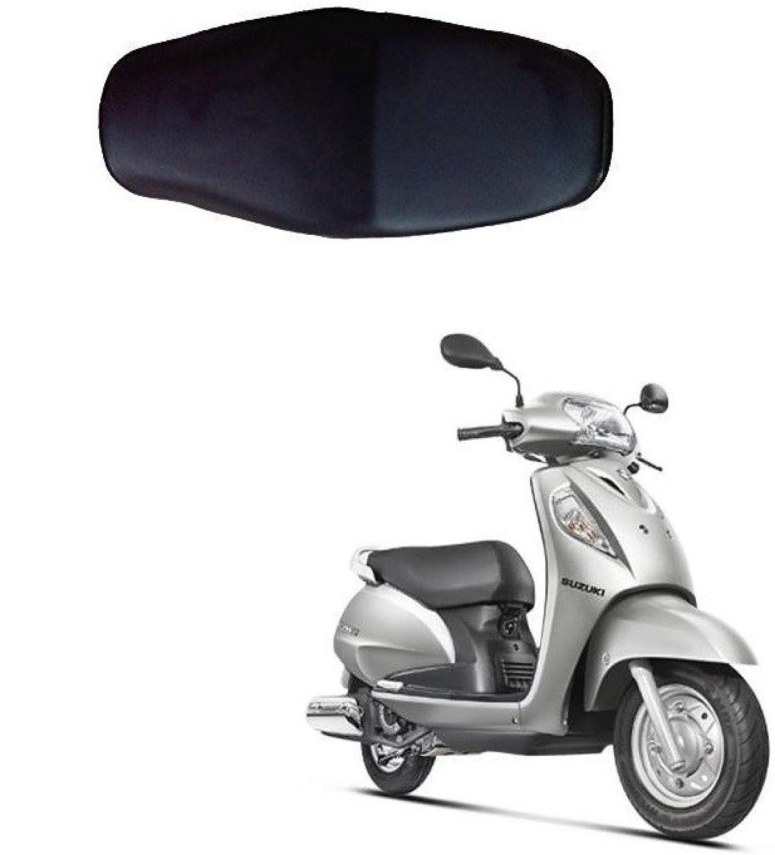 Spedy Black Scooty Seat Cover For Suzuki Burgman Street 125