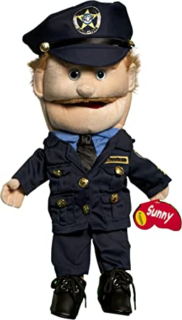 Sunny Puppets 14 Dad Police Officer Puppet Amazonca Toys Games