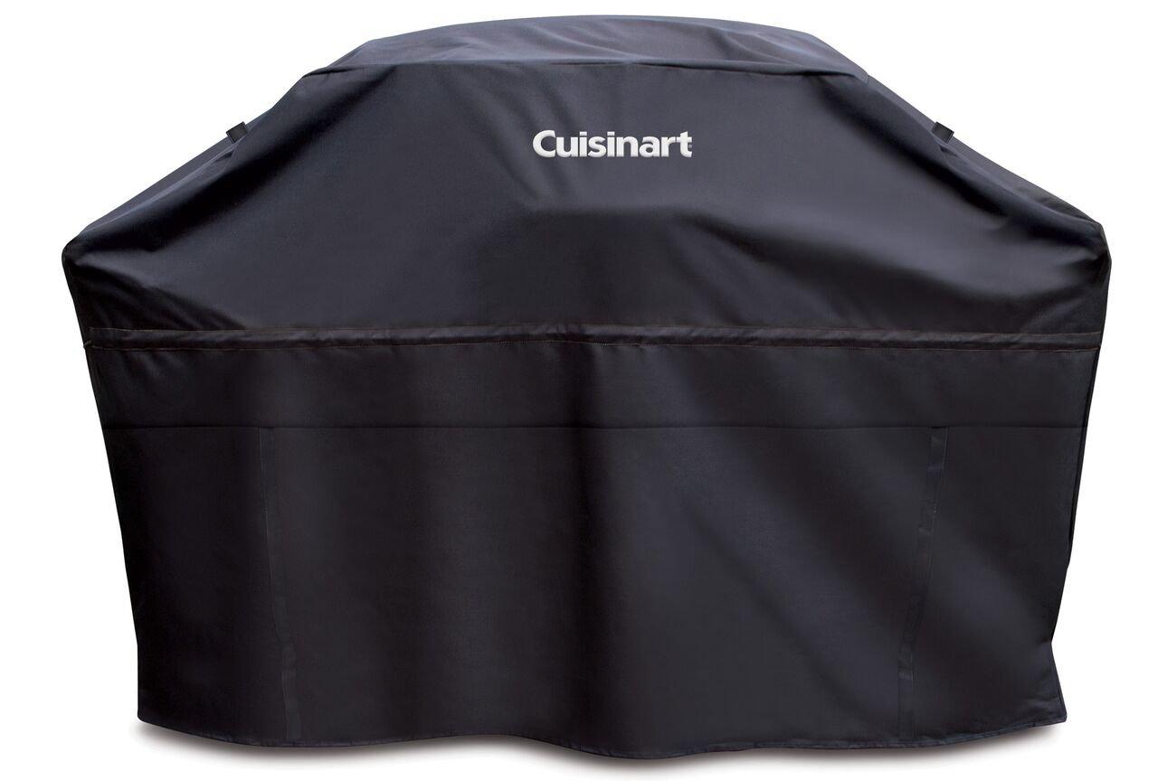 "Cuisinart CGC-60B Heavy-Duty Barbecue Grill Cover, 60"", Black"