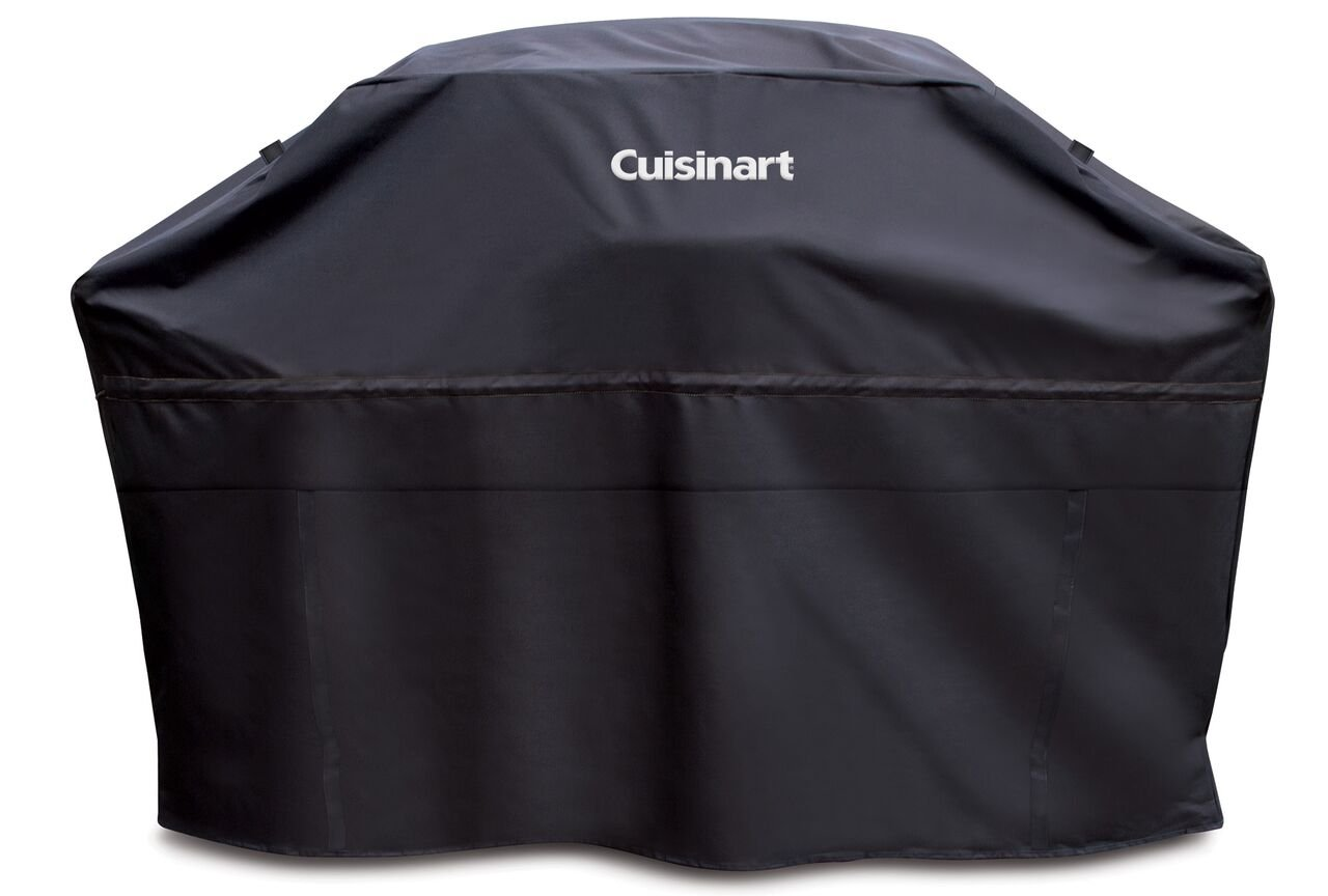 Cuisinart CGC-60B Heavy-Duty Barbecue Grill Cover, 60'', Black