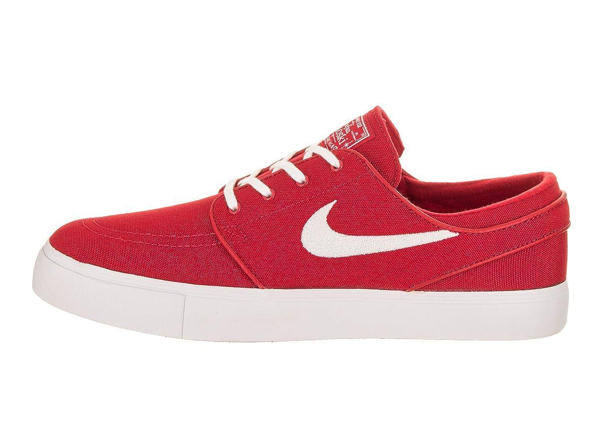san francisco 5de93 5e16d Nike Men s Zoom Stefan Janoski Cvns University Red White Skate Shoe 13 Men  US  Buy Online at Low Prices in India - Amazon.in