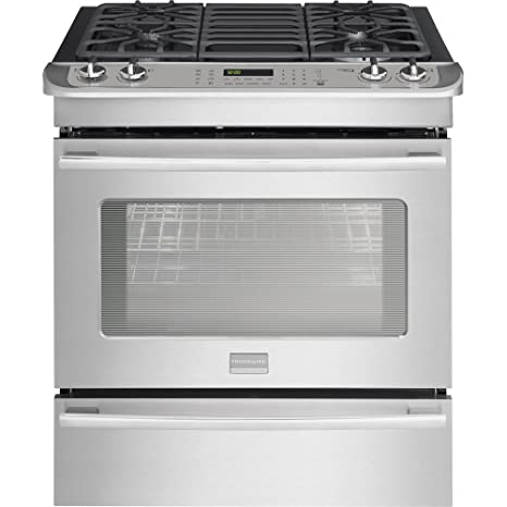 Amazon.com: Frigidaire FPDS3085PF Professional FPDS3085PF Dual-Fuel 4.6 Cu. Ft. Stainless Slide-In Range: Appliances