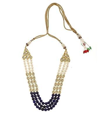 e1a64aad932c2 Amazon.com: Imlistreet Indian Necklace Jewelry Set Bollywood Bridal ...